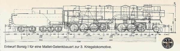 3e generatie kriegslocomotive Baureihe 53